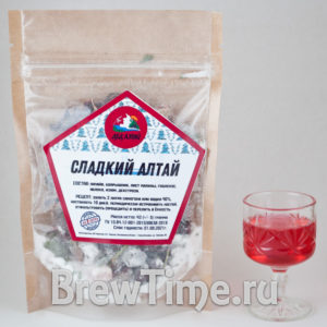Набор для настаивания Дед Алтай Сладкий Алтай